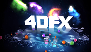 3D CGI 4dfx animated logo 3d composit compositing ahimated characters robots 01