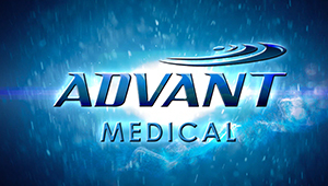 3D CGI Advant medical animated logo medical device stent centurian