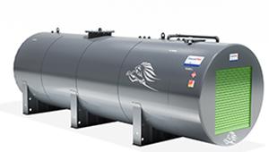 3D CGI Kingspan Diesel Pro steel tank fuel