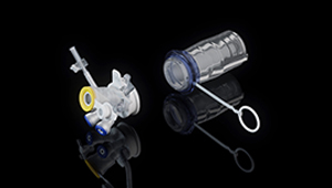 3D CGI Medical device surgical tools Olympus ASC Triport animamtion
