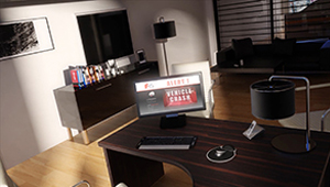 3D CGI animation office date servers frontend 02