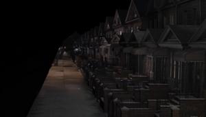 3D CGI set painting photomontage New York Street blue green screen compositing 02