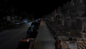 3D CGI set painting photomontage New York Street blue green screen compositing 03