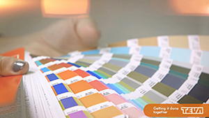 Video design colour chart lens flare stock