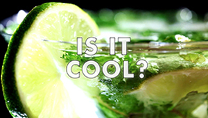 Video mohito lime fresh zest drink cocktail ice