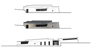 3D CGI Architeural Visualisation connemara OPW visitor centre presentation drawings 02